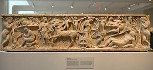 Endymion (mythology) - Image: MMA sarcophag 1