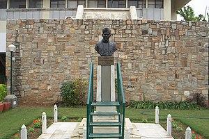 Malaviya National Institute of Technology, Jaipur - Statue of Pt. Madan Mohan Malaviya