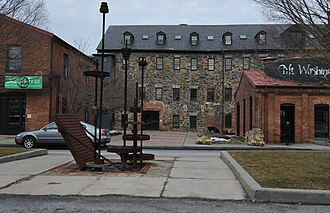Mount Washington, Baltimore - Image: MOUNT WASHINGTON MILL, BALTIMORE CITY, MD