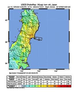 1978 Miyagi earthquake