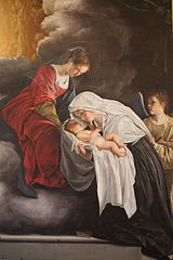 Vision of St Francesca Romana
