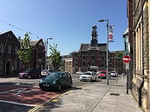 Maesteg - Image: Maesteg town centre