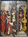 Maestro della leggenda di s. barbara, forse aert van den bossche, s.agostino sacrifica all'idolo dei manichei, 1480 ca. 01.JPG