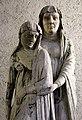 Maestro di sant'anastasia, svenimento della vergine, 1300-50 ca., da s. fermo, vr 02.jpg