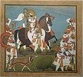 Maharana Bhim Singh and Retinue Embark on a Hunt.jpg