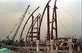 Main Auditorium Under Construction - Convention Centre Complex - Science City - Calcutta 1994-11-03 481.JPG