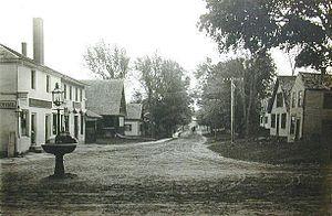 New Ipswich, New Hampshire - Main Street in 1907
