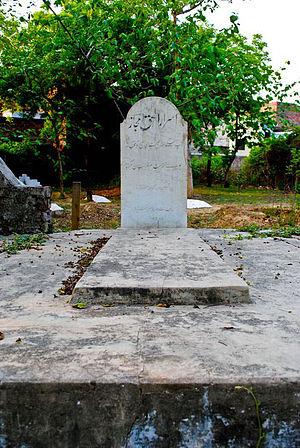 Majaz - Majaz grave at Nishatganj Graveyard Lucknow