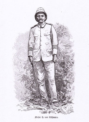 Hermann Wissmann - Major Hermann Wissmann, from an 1891 illustration by Rudolf Hellgrewe