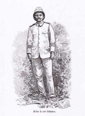 Hermann Wissmann - Major Hermann Wissmann, from an 1891 illustration by Rudolf Hellgrewe