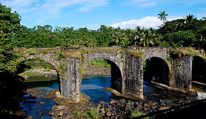 Tayabas - Malagonlong Bridge is considered as a National Cultural Treasure and other 10 bridges in Tayabas