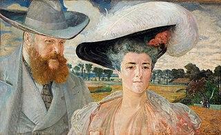 Portret Małgorzaty i Karola Lanckorońskich