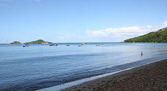 Bouillante - Malendure Beach and the Pigeon Islets