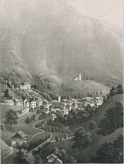 Malerische Ansichten aus Krain - Neumarktl