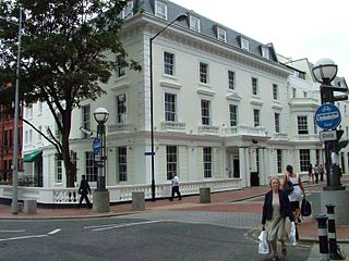 Malmaison Hotel, Reading grade II listed hotel in the town of Reading in the English county of Berkshire