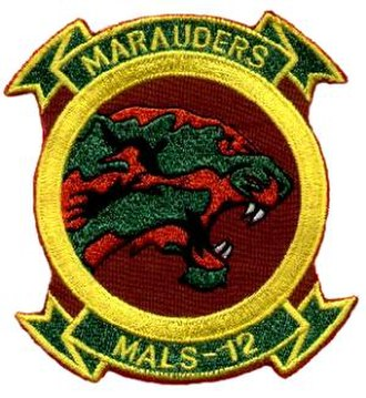 Marine Aviation Logistics Squadron 12 - MALS-12 Insignia