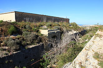 Albanian Subversion - Fort Binġemma, where Albanian recruits were trained.