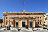 Malta - Valletta - Triq il-Papa Piju V - Central Bank of Malta 03 ies.jpg