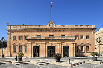 Central Bank of Malta - Image: Malta Valletta Triq il Papa Piju V Central Bank of Malta 03 ies