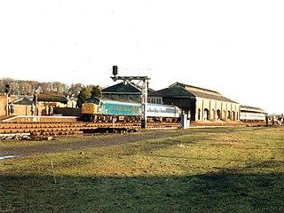 Malton railway station Station in North Yorkshire, England