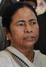 Mamata Banerjee - Kolkata 2011-12-08 7531 Cropped.JPG