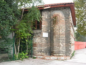 Manastır Mosque, Istanbul - The east side with the apses.