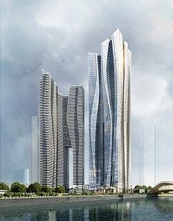 building in Mandarin Oriental Chengdu, China