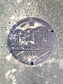 Manhole cover of Kobe, Hyogo.JPG