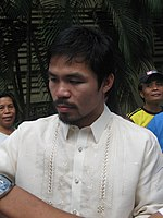 Manny Pacquiao in Siliman