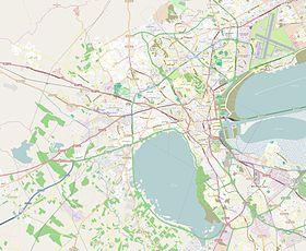 Géolocalisation sur la carte: Tunis/Tunisie