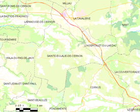 Map commune FR insee code 12220.png