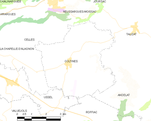 Map commune FR insee code 15053.png