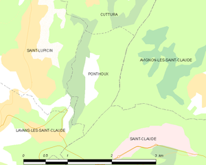 Map commune FR insee code 39438.png