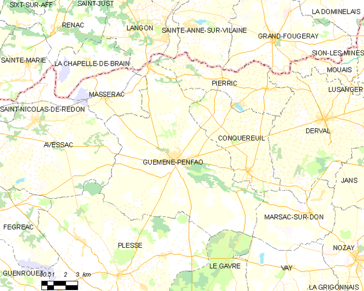 Fitxer:Map commune FR insee code 44067.png