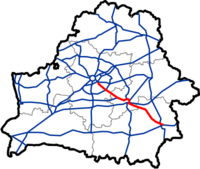 Map of Automobile Roads in Belarus M5.png