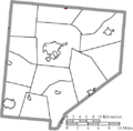 Map of Clinton County Ohio Highlighting Port William Village.png