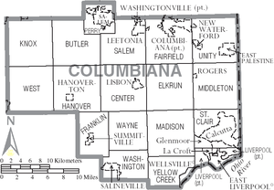Columbiana County Ohio Wikipedia