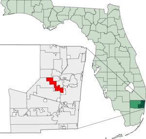 Map of Florida highlighting Lauderhill.png