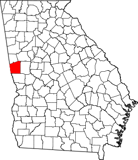 Koort vun Troup County