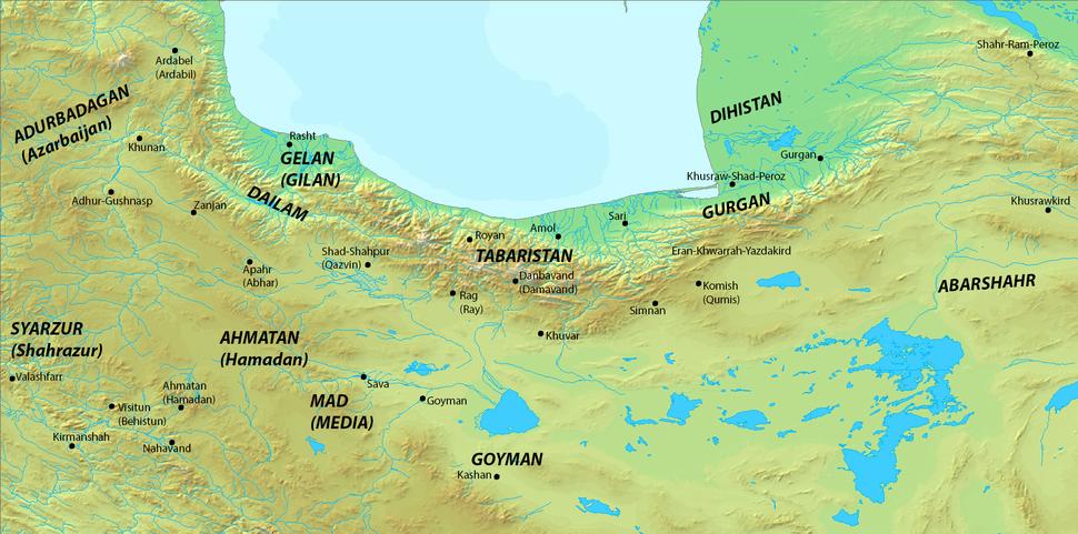 Location of Abarshahr