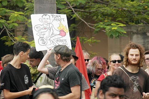 March in May 2014-05-18 Anti Abbott sign.JPG