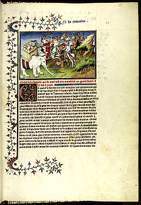 "A page from a manuscript of ""Il Milione"""