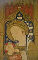 Mare de Déu de la Llet (detall), atribuït a Joan Beltran, museu catedralici de Sogorb.JPG