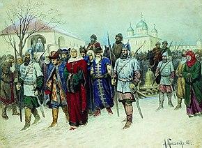 Присоединение Новгорода к Москве