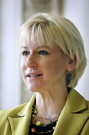 Minister for Foreign Affairs (Sweden) - Image: Margot Wahlstrom Sveriges EU kommissionar