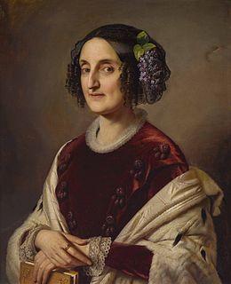 Princess Maria Ferdinanda of Saxony Grand Duchess of Tuscany