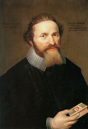 Maria de Grebber - Portrait of Augustinus de Wolff, the brother-in-law of the artist