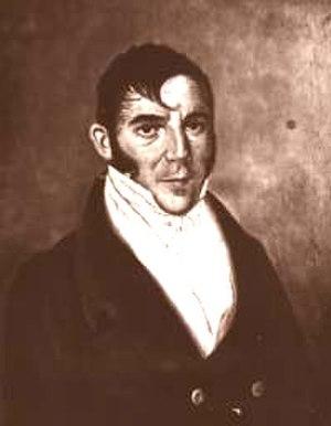 Mariano Gálvez - Mariano Galvez in his youth