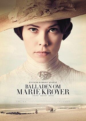 Birgitte Hjort Sørensen - Sørensen in the poster for the film The Passion of Marie