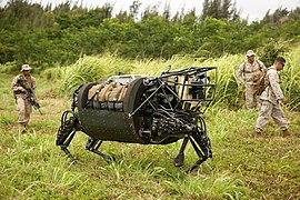 Marines experiment with military robotics RIMPAC 2014.jpg